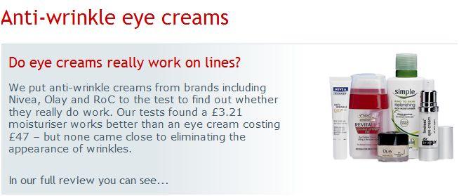Beste oogcreme tegen rimpels en wallen