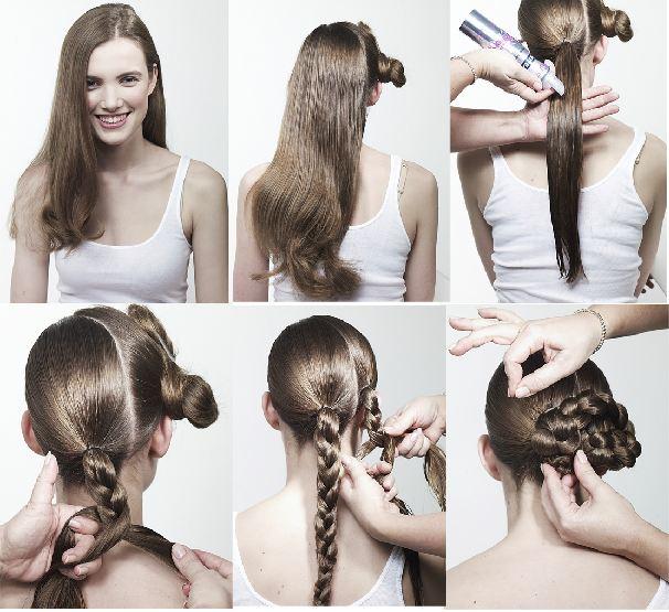Быстрые причёски своими руками пошаговое фото