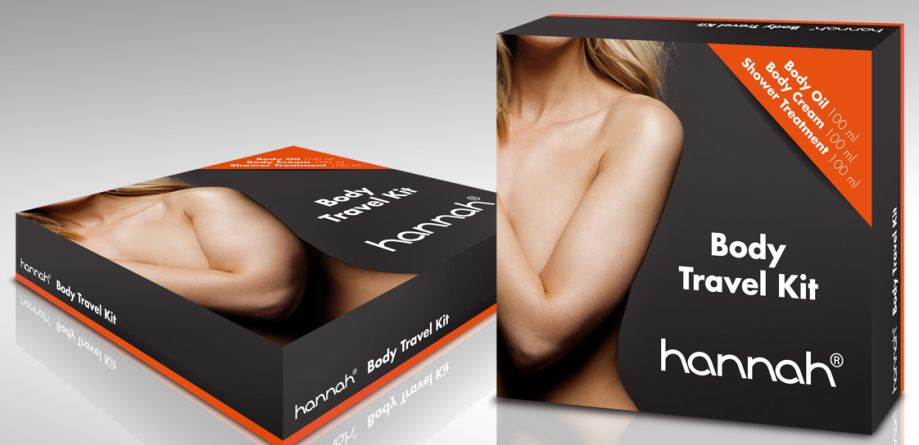 hannah Body Travel Kit: onmisbaar op reis