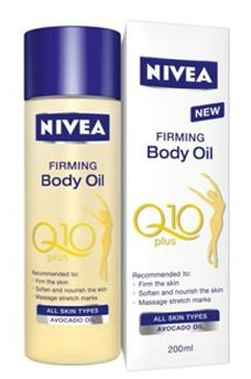 Sabine test Nivea Firming Body oil Q10 plus
