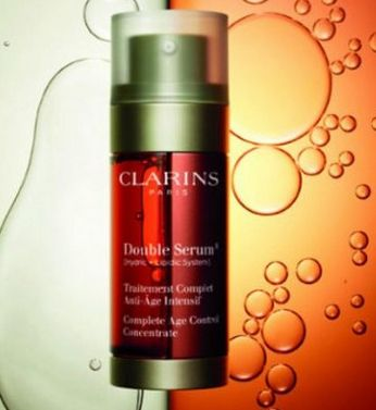 clarins double serum screenshot