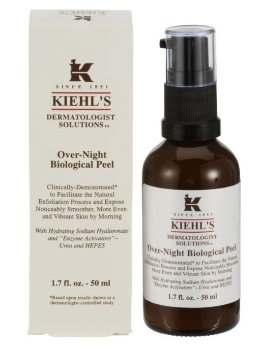 Harriet test Kiehl&#8217;s Over-Night Biological Peel