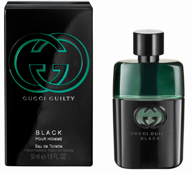 Roos test Gucci Guilty Black pour Homme