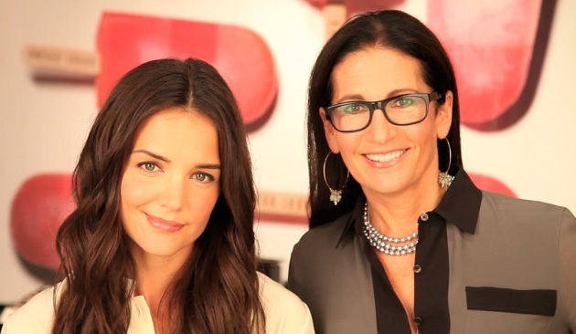 Webcast interview met Bobbi Brown & Katie Holmes