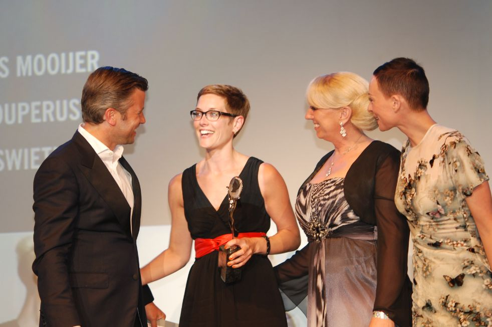 coiffure award kim koffijberg ontvangst