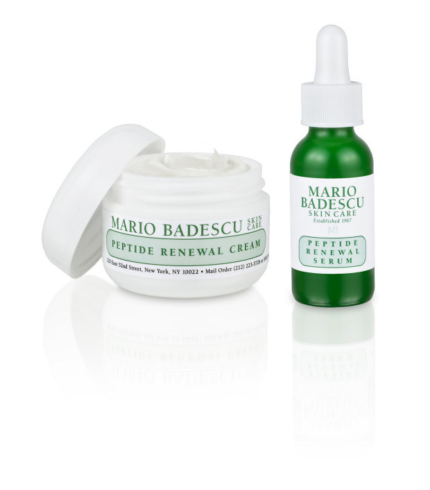 Mario Badescu_Peptide Renewal Cream & Serum_open pot @ COSMANIA