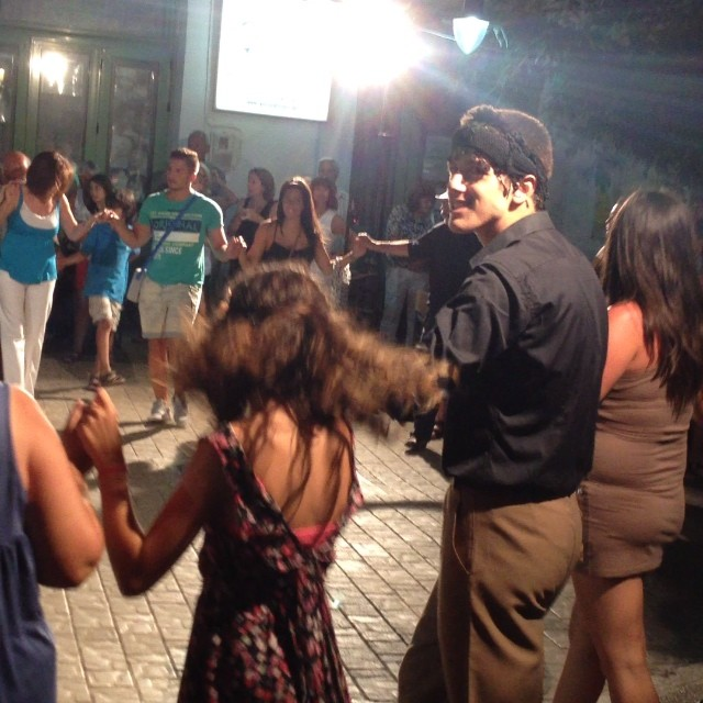 #paleochora #village #crete was #dancing last night