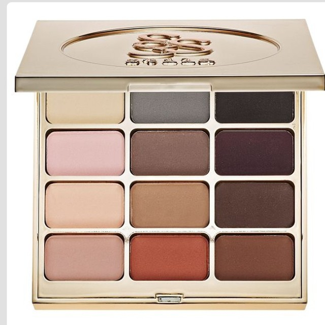 This looks like your perfect palette for this winter #eyeshadow #stila #trends #fall #2014, forbthe #nude the #grey and the #brown looks