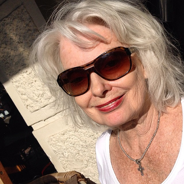 My sweet friend Renate. Former model, and the age of 72 she still looks fabulous.