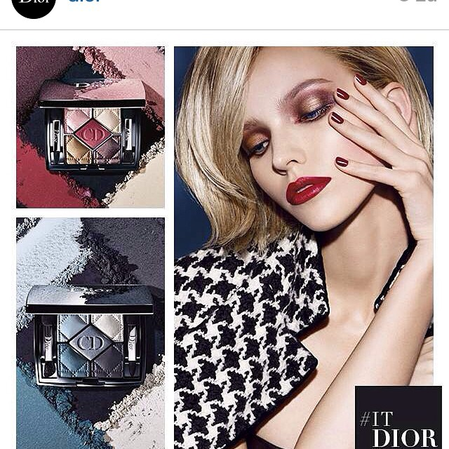 #dior #makeup look #fall 2014