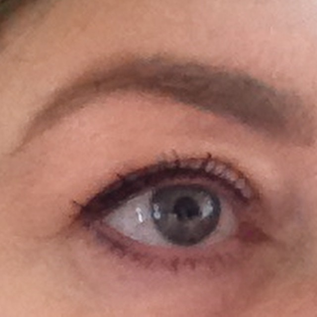 I had my eyebrows done at #benefit with their #browtools
