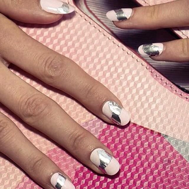 #origami #nails at #kenzo #ss15
