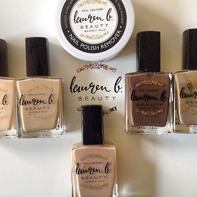 Oh Lauren B! Your nude collection is FAB! #laurenb #nailpolish #nude #colors #trend #elineprins #interbrandservices