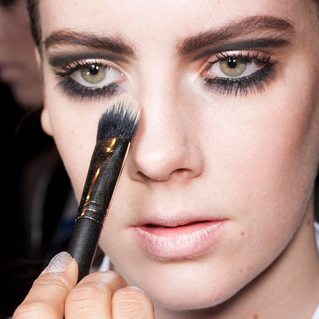 #makeuptrend #fall2014 #maccosmetics #feathers #eyemakep