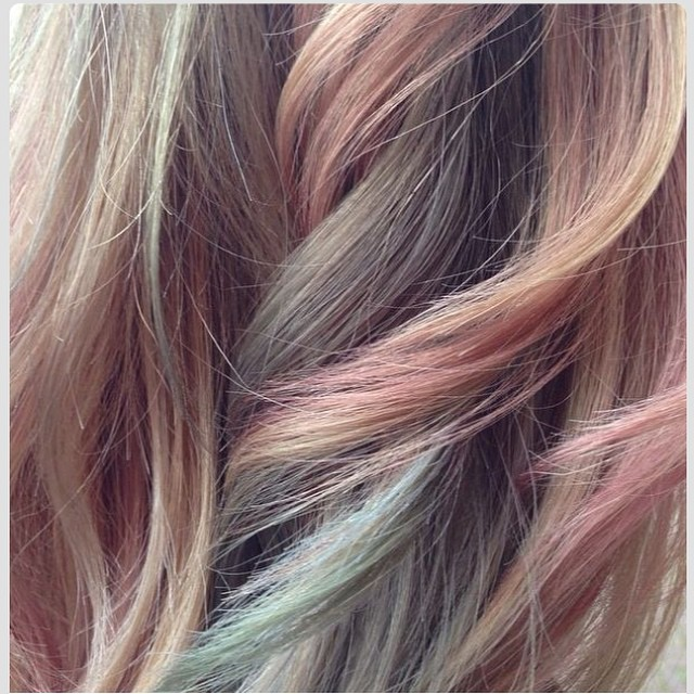 #wella #professionals #instamatic #haircolor #pastel