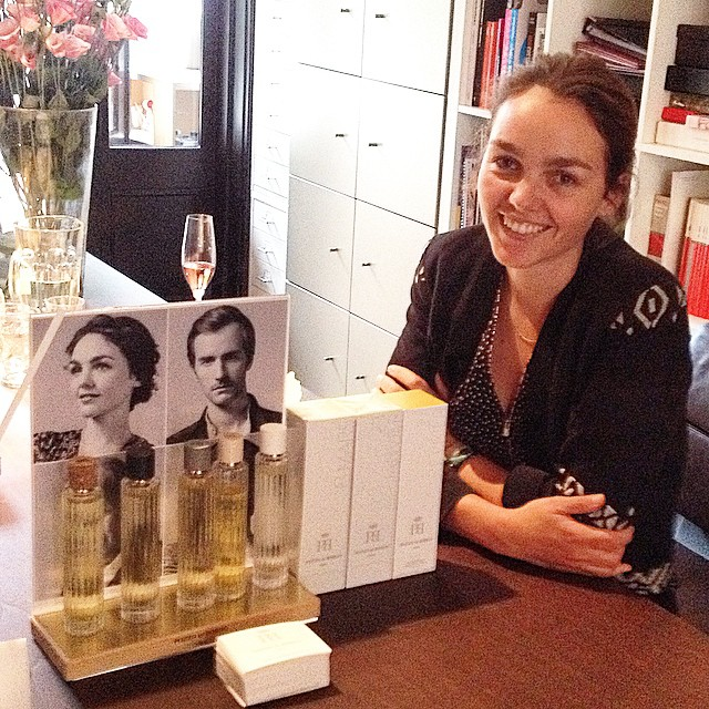 Valentine Pozzo di Borgo great great granddaughter of xavier givaudan, I met her last week in Amsterdam. Great elegant uplifting perfumes. Makes me happy. #perfume #givaudan #valentinepozzodiborgo #niche #happy #theperfumelounge