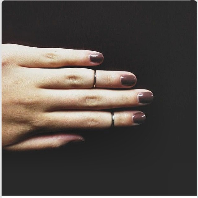 Love #brown #nailpolish #trendcolor #aw2014
