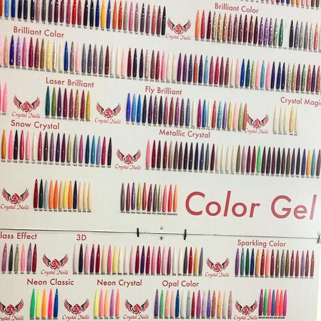 Gel nailpolish rules #nailpolish #trend #colors #brightcolors #beautyfair #holland