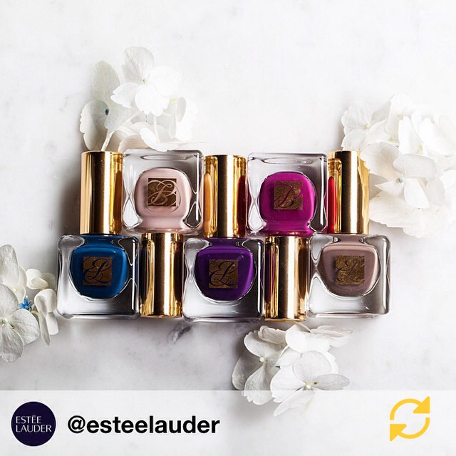RG @esteelauder: Matte is the name of the game. #ManiMonday #notd #regramapp