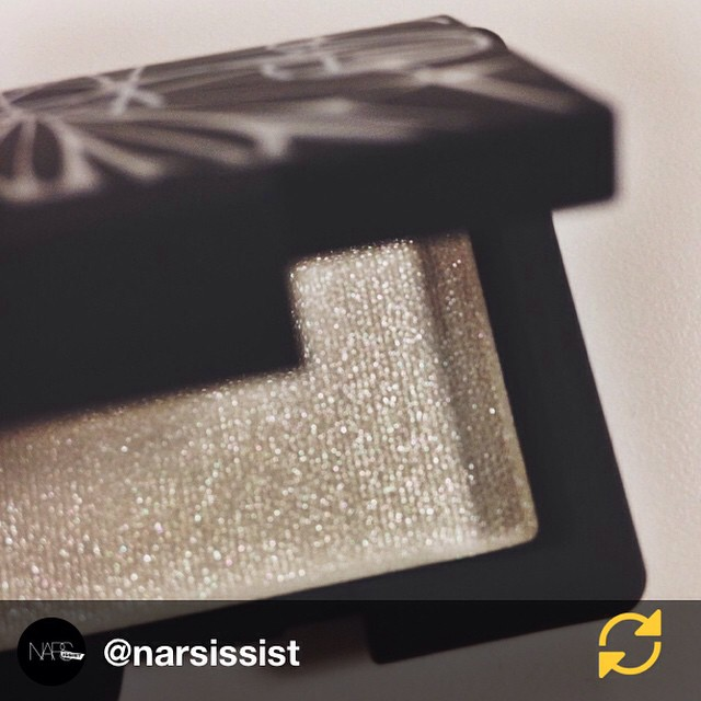 RG @narsissist: Opal Coast Hardwired Eyeshadow, a delicate part of the limited edition Holiday 2014 Color collection. Buy it now at NARS boutiques and on narscosmetics.com. #regramapp