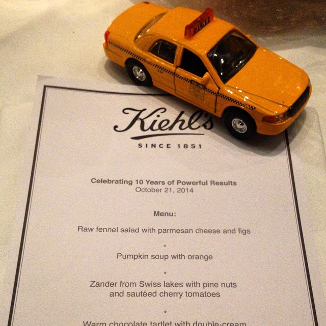 Remembering a great #diner with #kiehls in #zurich at #lasalle for #kiehlsinnovations