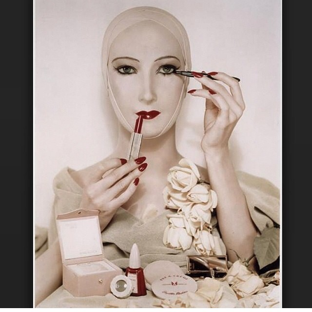 #erwinblumenfeld study for #beauty #advetisement #1948