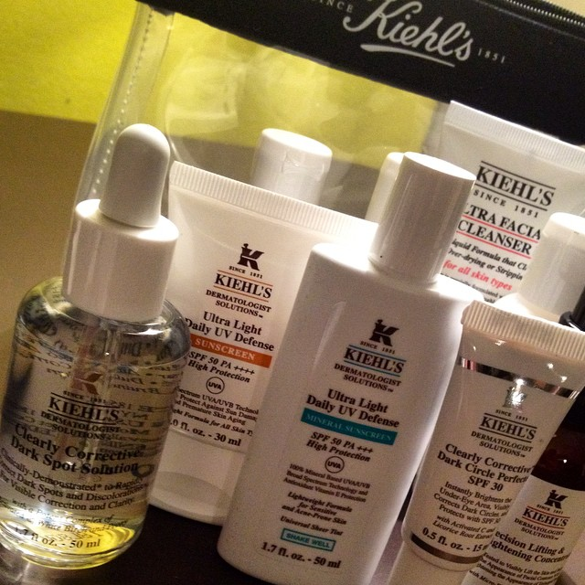 The latest #kiehls introductions! Clearly corrective dark spot solution, clearly corrective dark circle perfector spf30, ultra light daily uv defense spf sunscreen and ultra light daily uv defense spf 50 mineral sunscreen #kiehlsinnovations #beautynews #sun #darkcircles #sunscreen #acne #vitaminc #hyperpigmentation