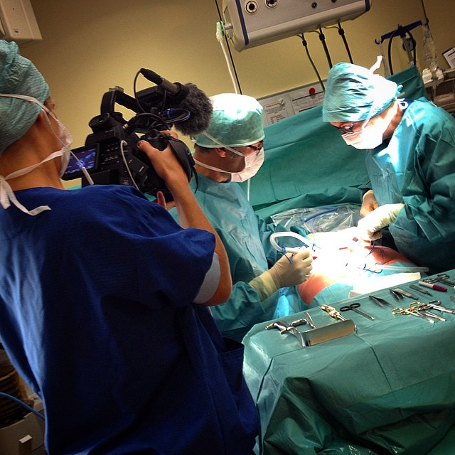 Producing a #video about #buttock #augmentation #surgery in the #netherlands with #surgeon #frankniessen for #beautyjournaal.nl