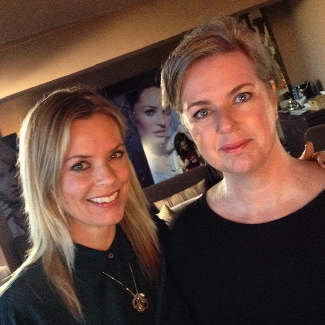 Wake-up makeup with the charming mua Caroline Barnes #maxfactor #pgvisionhouse