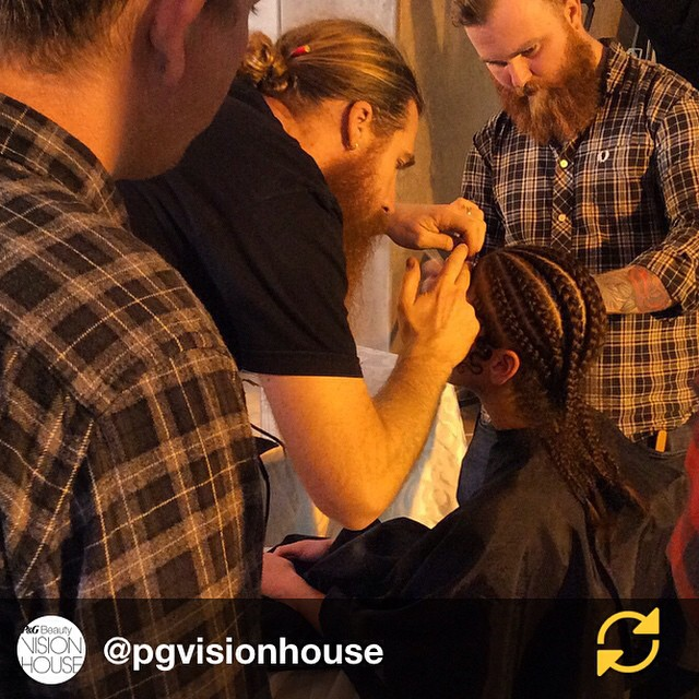 RG @pgvisionhouse: Behind the scenes Duffy works his Mangrovia kiss curls. #PGVisionHouse #regramapp