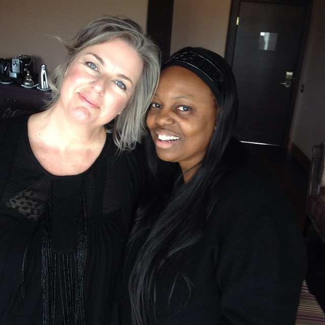 Meeting @patmcgrathreal in Marrakech at the #pgvisionhouse