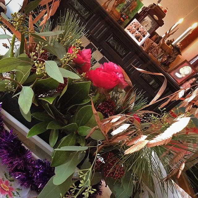 My little breakfast table bush #amsterdam #breakfast #december