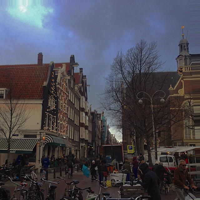 #saturday #afternoon #noordermarkt #amsterdam #december #2014