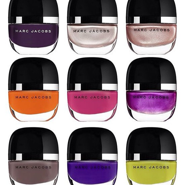 Oh how lovely! #marcjacobs #nailpolish! #instabeauty #beautynews #beautyjournaal - great packaging!