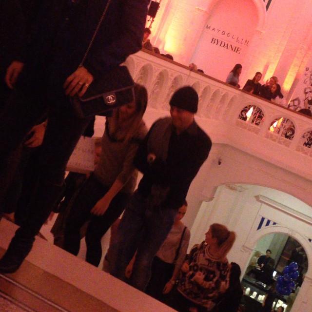 Lets begin the show in @stedelijkmuseum #amsterdam #daniebles and #100yrsmaybelline
