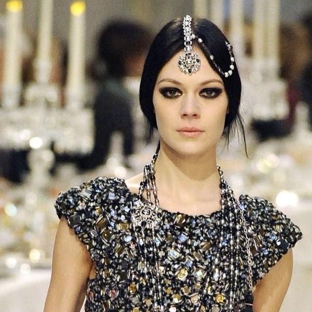 #chanel #2015 #fashion #ethnic #indian #style