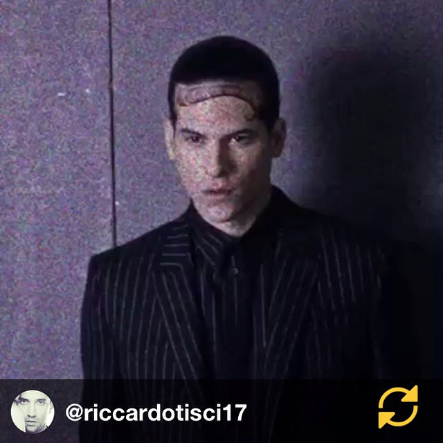 RG @riccardotisci17: THE LOOK @givenchyofficial #love #family #menscouture #gang #blackgivenchy #gboys #regramapp