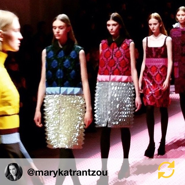 RG @marykatrantzou: #heartofglass #marykatrantzou #aw15 #kenophobia vs #modernism