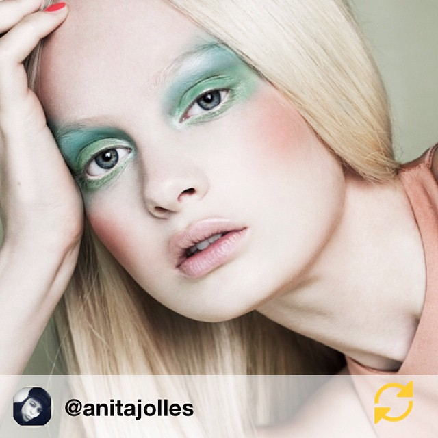 RG @anitajolles: #archive Model @steffi @michamodels Photo by Shamila @ericelenbaasagency Make up by me @anitajolles Hair by @samcolour #regramapp