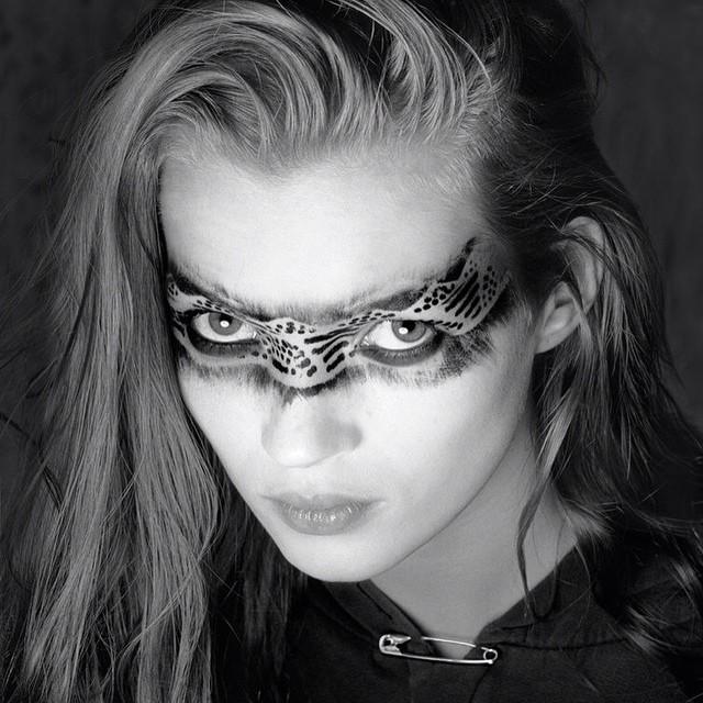 #tribal #makeup #katemoss #eyes #inspiration #instabeauty @beautyjournaal_daily