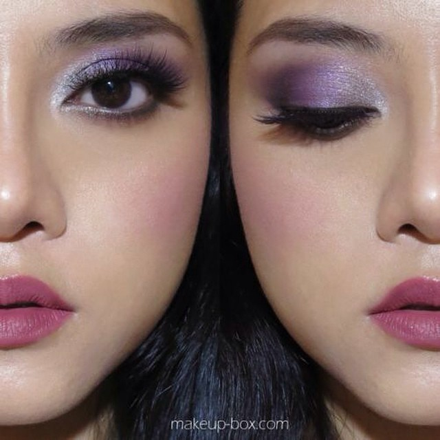 #makeup #inspiration #instabeauty @beautyjournaal_daily #lilac #eyes #trend #ss2015