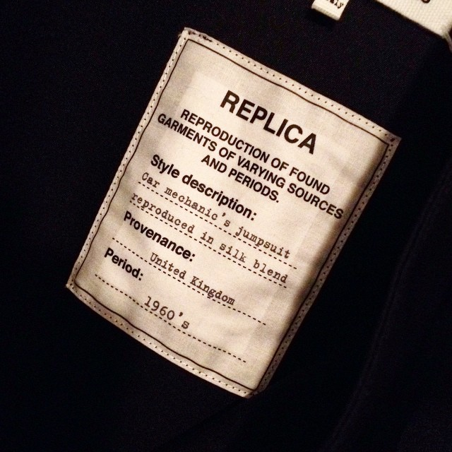 Love my new Martin Margiela jumpsuit....#martinmargiela #retro #1960 #jumpsuit #instafashion #ss2015 #style