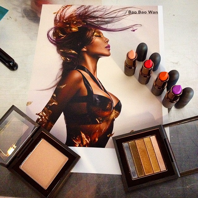 Inspirational by the great #photographer @chenman for @maccosmetics