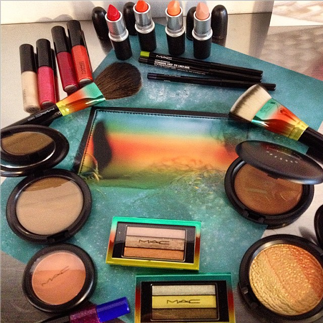 It's coming..soon...early summer collection by @maccosmetics Love the tropical vibes! #inspiration #instabeauty #makeup #trend @beautyjournaal_daily