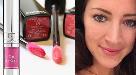 Homepage Lipgloss Chanel en Lancome