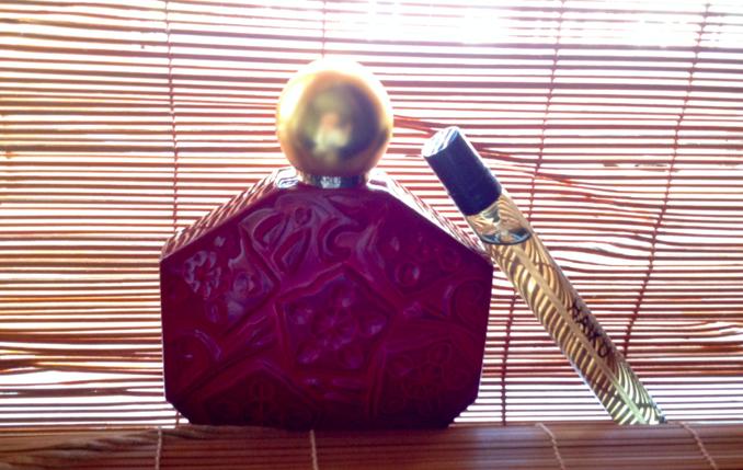 ombre rubis en haiku perfume
