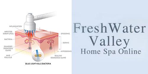 Homepage FreshWater Valley Blauw Licht