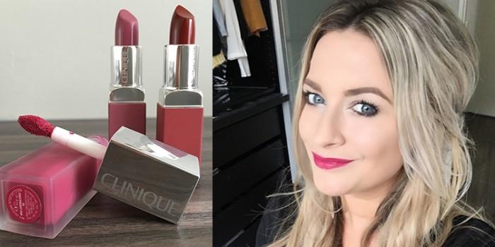 Homepage Clinique Matte Pop Lipsticks