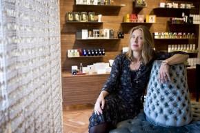Tanja Deurloo in the Perfume Lounge