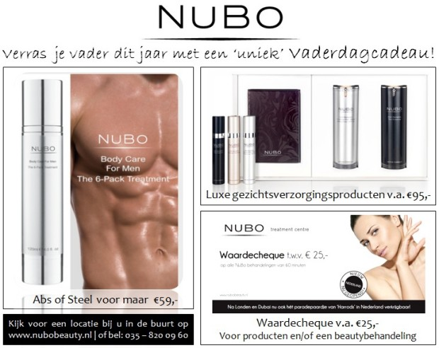 Vaderdagactie 2013 NuBo Beauty